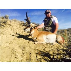 Fair Chase Pronghorn Antelope Hunt in Craig, Colorado (2017)