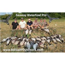 3-Man Waterfowl Hunt in Upstate NY