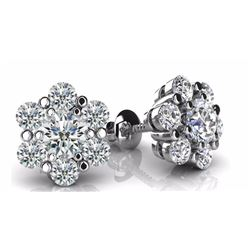 Diamond Stud Ear Rings