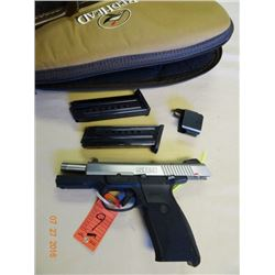 Ruger SR9 9mm Semi Auto Pistol 2 Mags & Case - S/N 330-87847