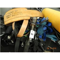 Lot of Exercise Belts