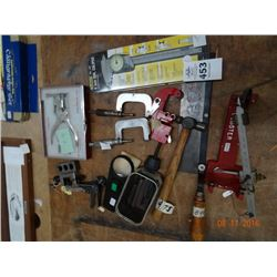 Lot of Dial Caliper, Ear Piercer, and More