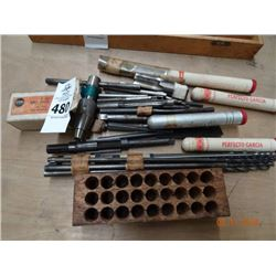 Lot of End Mills & Drill Bits