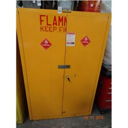 Flammable Cabinet - No Contents - Wood Shelves