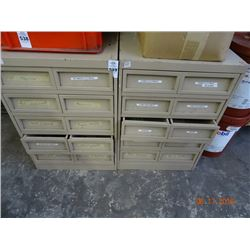 5 Drawer Parts Cabinet - Heavy Duty - 2 Times the Money