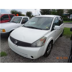 2008 Nissan Quest 5-Dr. 7-Pass. Mini Van