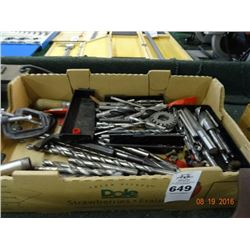 Lot of Clamps, Bits & More