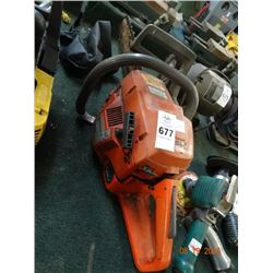 Husqvarna Gas Chain Saw - No Shipping