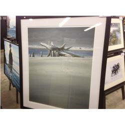 """LIMITED EDITION SIGNED PRINT BY KEITH HISCOCK """"RIVERSIDE II"""" 3/95"""