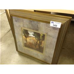 """30""""X30"""" FRAMED ABSTRACT PICTURE"""