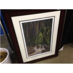 "EMILY CARR LIMITED EDITION PRINT ""SEA DRIFT"" 101/950"
