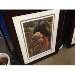 "EMILY CARR LIMITED EDITION PRINT ""FOREST BC"" 102/950"