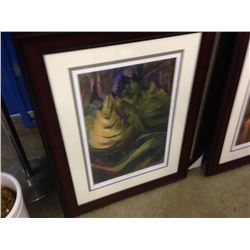 "EMILY CARR LIMITED EDITION PRINT ""FORMALIZED TREES"" 101/950"