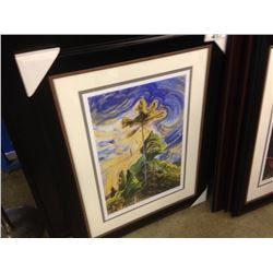 "EMILY CARR LIMITED EDITION PRINT ""SUNSHINE AND TUMULT"" 101/950"