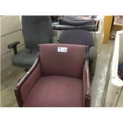 LOT OF APPROX 10 OFFICE CHAIRS