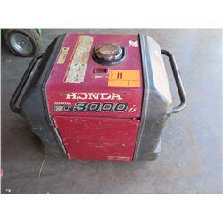 Honda EU3000IS Generator - 3000 Watts