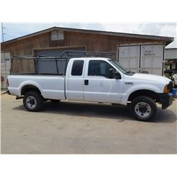 06 Ford F350 Pickup Truck w/Pipe Racks (Lic. 774 TSD)