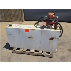 Diesel Fuel Tank w/Hose and Nozzle, Tuthill 800C Meter