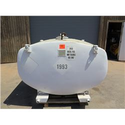 Large Diesel 600-Gallon Fuel Tank