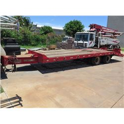 '01 Interstate GVW 47600 Flatbed Trailer (Lic. 584 WDX) - 24' long X 8' wide