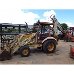 Case 580K Backhoe Hoptoe