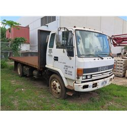 1990 Isuzu Flatbed Truck - No Keys- No Title