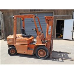 Toyota 5FD25 Diesel Forklift - 19191 hrs - Available for pick-up Friday, August 26 (5pm)