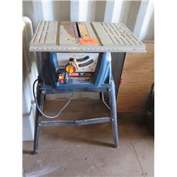 Ryobi 10-Inch Table Saw