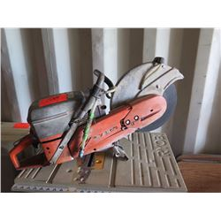 Husvarna Concrete Saw