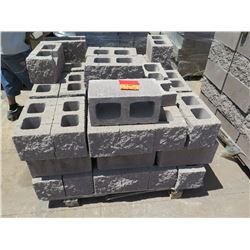 "Misc. Bricks (Contents of Pallet) - Approx. qty 53 (16"" X 8"")"