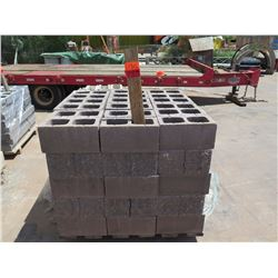 "Misc. Bricks (Contents of Pallet) - Approx. qty 90 (16"" X 8"")"