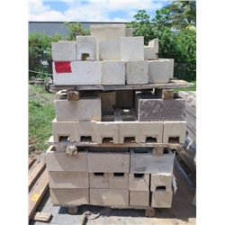 "Misc. Bricks (Contents of Pallet) - Approx. qty 80 Mixed: 16""X8"""