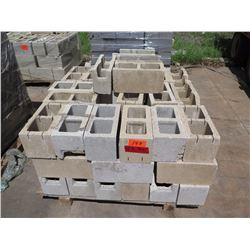 "Misc. Bricks (Contents of Pallet) - Approx. qty 70 (16"" X 8"")"