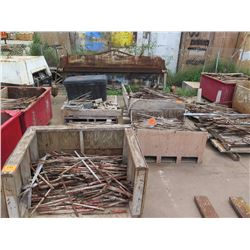 Approx. 8 Pallets Metal Stakes