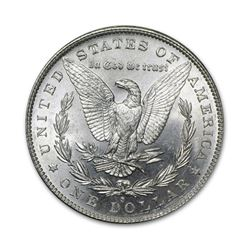 1881-S $1 Morgan Silver Dollar Uncirculated