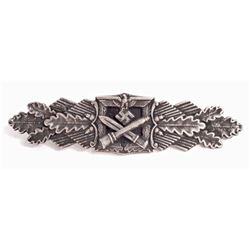 NAZI GERMAN ARMY SILVER CLOSE COMBAT CLASP