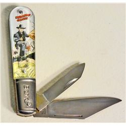 BARLOW HOPALONG CASSIDY NOVELTY POCKET KNIFE