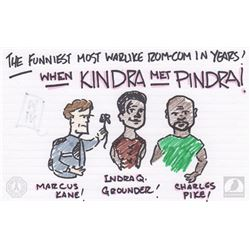 "The 100 ""When Kindra Met Pindra"" Character Doodle"
