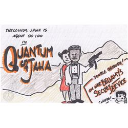 "The 100 ""Quantum of Jaha"" Character Doodle"