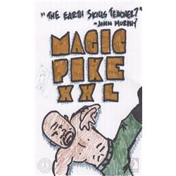 "The 100 ""Magic Pike XXL"" Character Doodle"