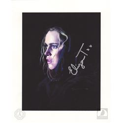 The 100 Clarke Griffin Art Print Signed by Eliza Taylor