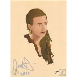 The 100 Niylah Art Print Signed by Jessica Harmon