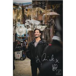 The 100 Behind-the-Scenes Aaron Ginsburg  Kane  Photo Signed by Henry Ian Cusick