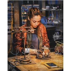The 100 Behind-the-Scenes Aaron Ginsburg  Raven  Photo Signed by Lindsey Morgan