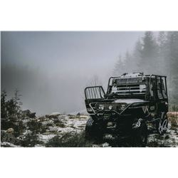 The 100 Behind-the-Scenes Aaron Ginsburg  Rover in the Snow  Photo