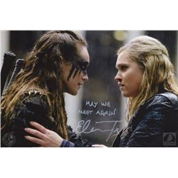 "The 100 ""Clexa"" Photo Print Signed by Eliza Taylor"