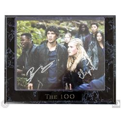 The 100 Clarke & Bellamy Photo Plaque Signed by Eliza Taylor & Bob Morley