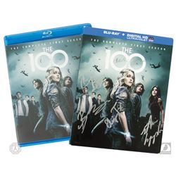 The 100: The Complete First Season 3-Disc Blu-ray Set Signed by 7 Cast Members