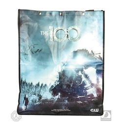The 100 San Diego Comic Con 2015 Bag Signed by Lindsey Morgan