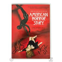 American Horror Story: The Complete First Season 4-Disc DVD Set Signed by Breckenridge & O'Hare